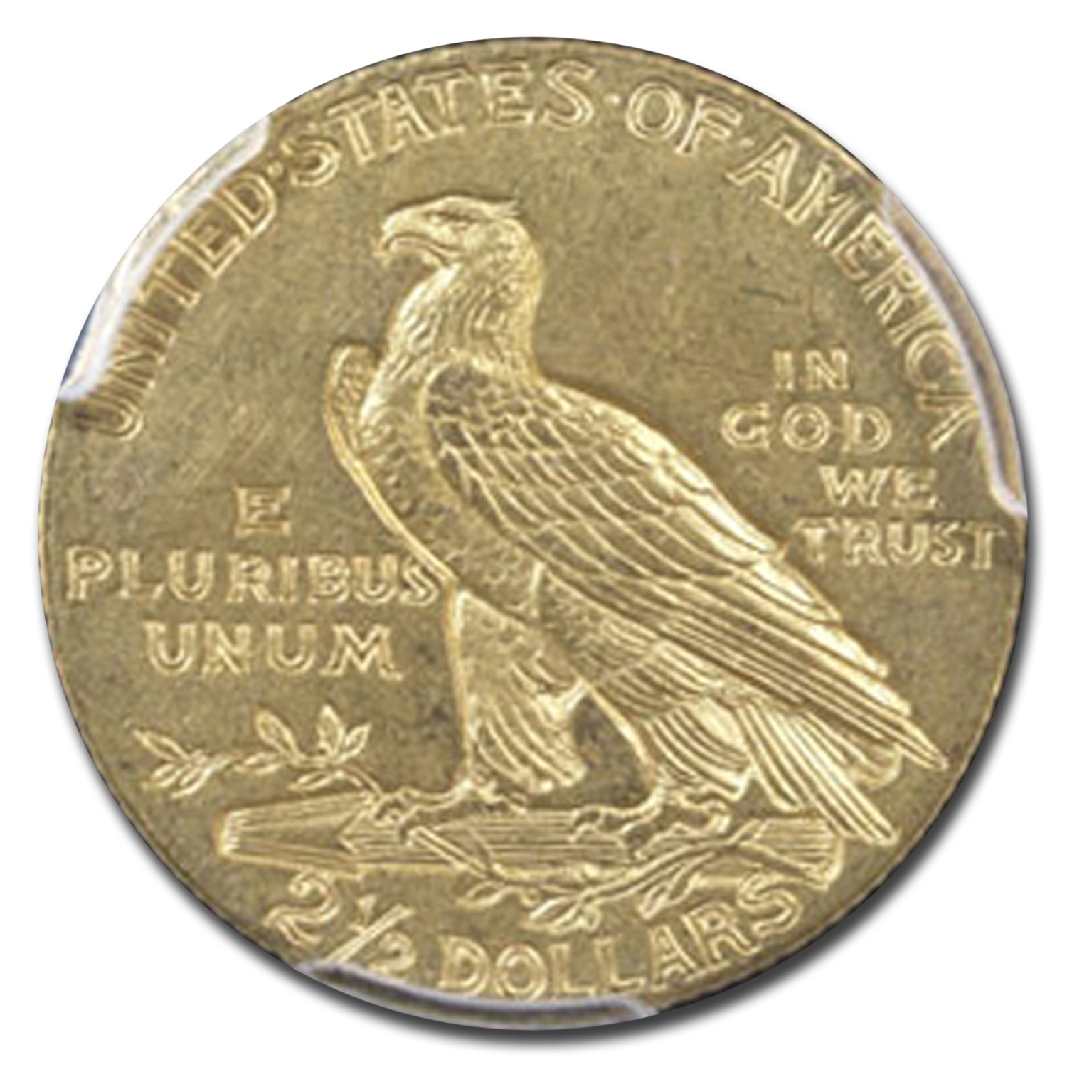 1911 $2.50 Indian Gold Quarter Eagle MS-62 PCGS